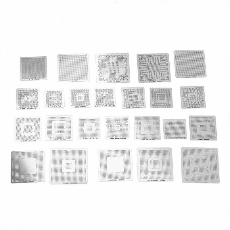 Accessories BGA Reballing Rework Net Pack Universal Reball Rework Stencil New