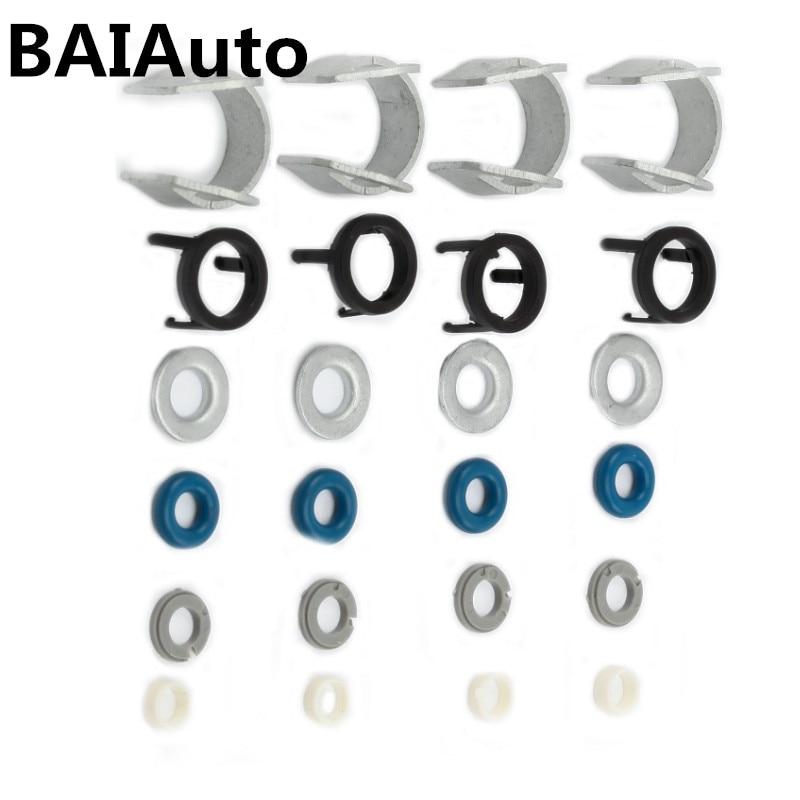 4 conjuntos de Combustible Inyector Sello Kit de reparación apto para Escarabajo Jetta Passat Audi A3 A4 EA888