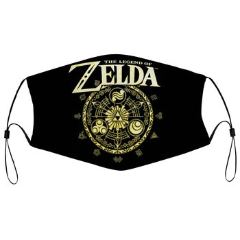 Classic Game The Legend Of Zelda Gold Dust Mask For Men Crewneck Casual Face Mask Gaming Lover Gift K001630 game the legend of zelda cosplay accessories necklace pendants weapons vintage pendants for women man xmas gift