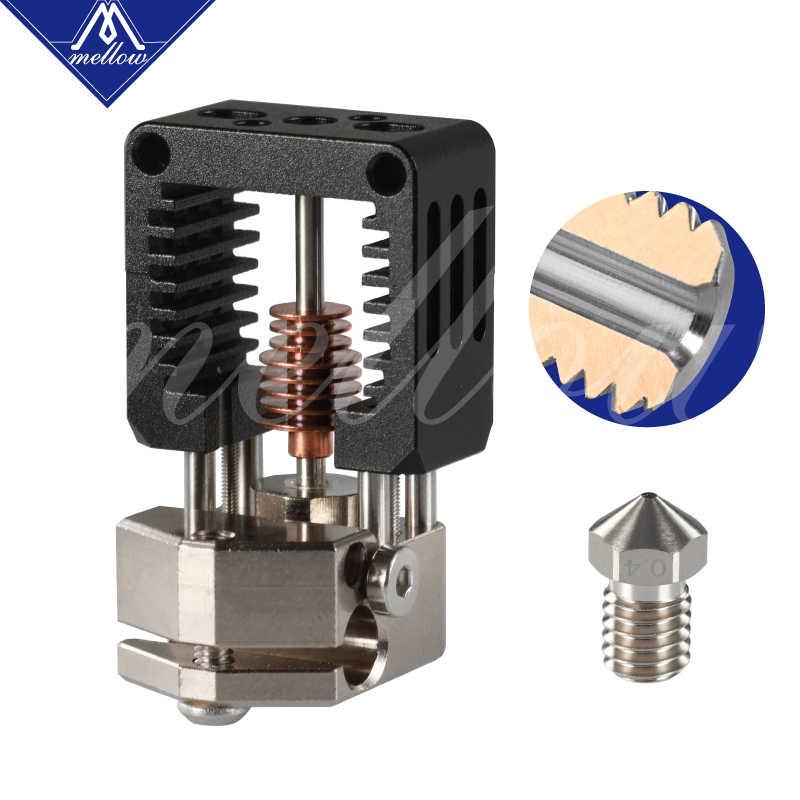 Mellow Alle Metalen Nf-Crazy Hotend V6 Koperen Mondstuk Voor Ender 3 CR10 Prusa I3 MK3S Alfawise Titan/bmg Extruder 3D Printer Onderdelen