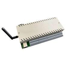 Kincony control inteligente WIFI en casa, 32 canales, cambio de aplicación/PC, control remoto de sincronización, sensor de cable, conexión de alarma