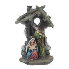 Figurine Holy Family Nativity Scene Home Decoration Christ Jesus Statues Mary Joseph Miniature sculpture Christmas gift