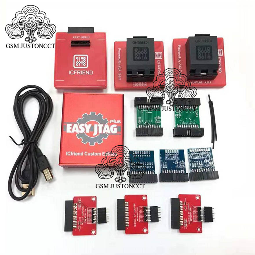 EASY JTAG + Adapter  + ic 3 in 1 -c