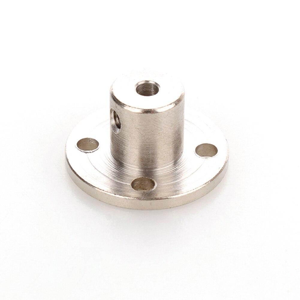 4/5/6mm Rigid Flange Coupling Motor Guide Shaft Coupler Motor Connector Shaft Coupler With Wrench + Screws