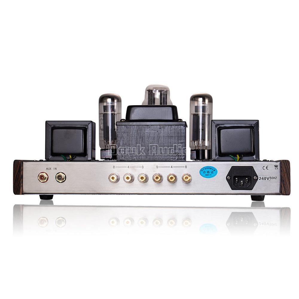 Douk audio Updated 6N9P Push EL34 Valve Tube Amplifier Pure Handmade Scaffolding Hi Fi Stereo Class A Power AMP - 5