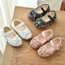 Spring summer Girls Princess Leather Shoes For Children Dress Shoes