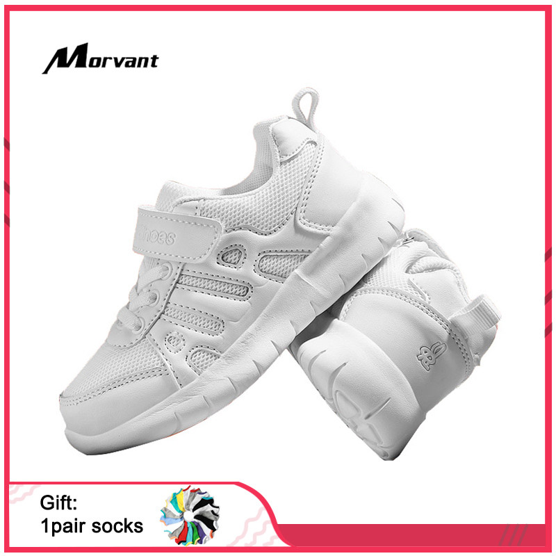 Kids Sneakers Fashion White Children's Shoes Ergonomics Boy Girls Shoes Breathable Children Footwear Leisure Kids Shoes