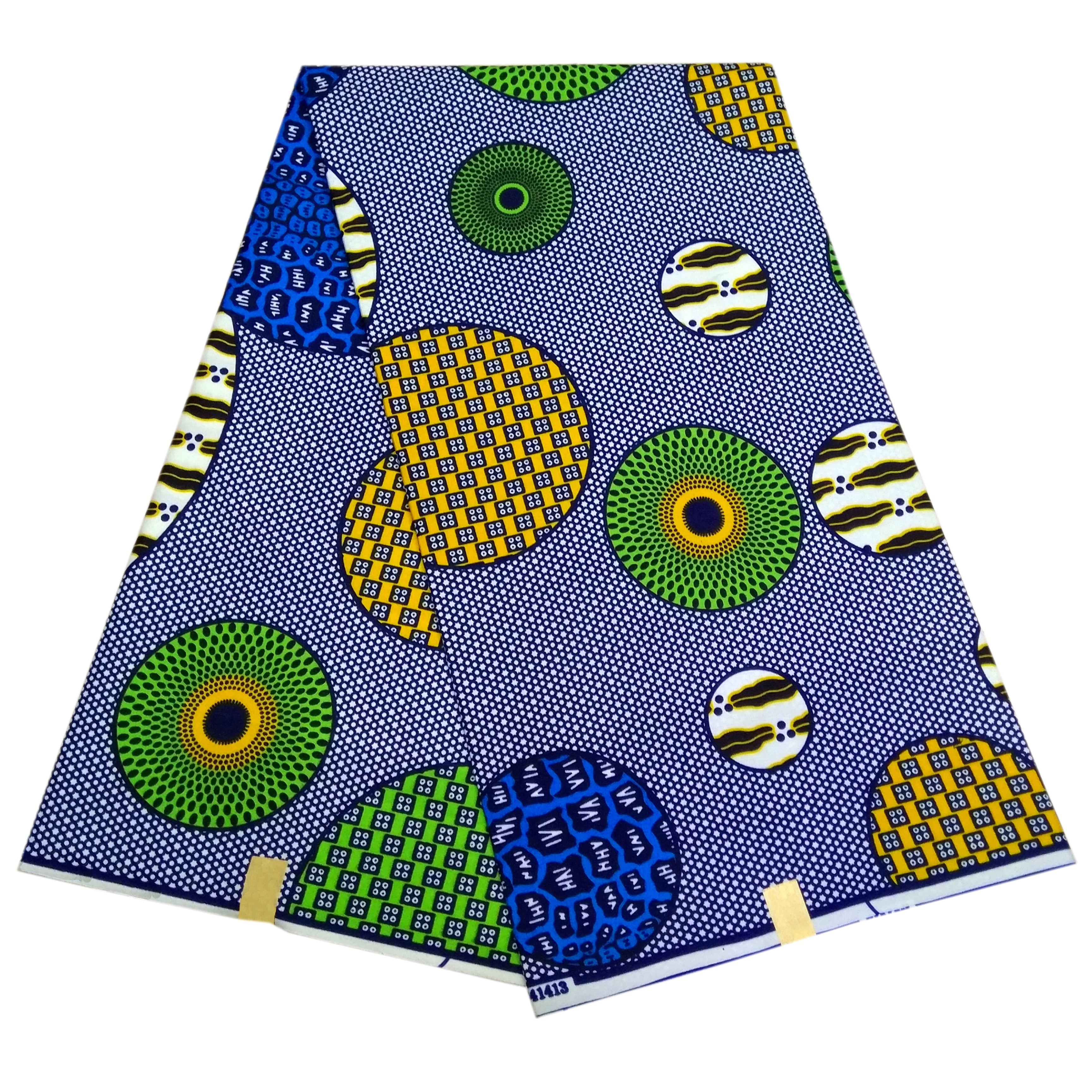 2019 Ankara African Polyester Wax Prints Fabric Wax High Quality 6yards African Fabric For Party Dress