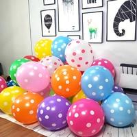 10 unids/lote 12 pulgadas mezclado Feliz cumpleaños fiesta de látex globos de aire de flores globo boda decoración fiesta suministros