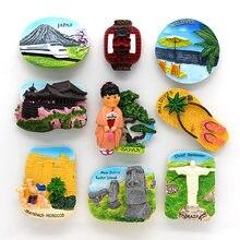 Japan Tourismus kühlschrank kühlschrank magneten paste souvenirs Tokyo Shinkansen Chile Brasilien Marokko souvenirs zimmer dekoration Geschenke