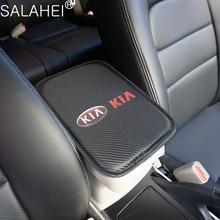 Auto Armsteun Pad Covers Auto Seat Armleuningen Doos Pads Opslag Voor Kia Rio K2 Sportage Sorento Cerato Armsteun Soul Picanto optima