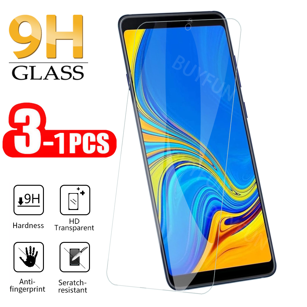 1-3Pcs <font><b>Screen</b></font> Protector For Samsung A9 <font><b>2018</b></font> A9200 Tempered Glass For Samsung A8 Plus <font><b>2018</b></font> A7 A6 <font><b>A5</b></font> 2018Screen Protective Glass image