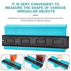 Image 4 - 1 шт. 20 дюймовый контурный манометр, дубликатор пластиковых профилей, копировальный манометр для плитки, дерева, инструмент для разметки плитки, ламината, плитки, инструменты общего назначения