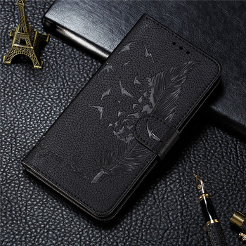 POCO M3 Shockproof PU Leather Case For Xiaomi Pocophone M3 M 3 Magnetic Flip Embossed Retro Cover for Mi Poco M3 Wallet Coques