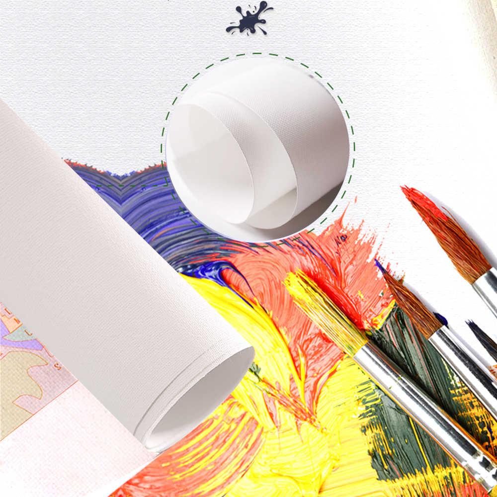AZQSD 40x50cm Lukisan Dengan Angka Lanskap DIY Cat Oleh Nomor Kanvas Lukisan Kit Untuk Rumah Modern dekorasi