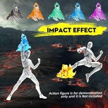 Figuras de acción de Tamashii, modelo Kamen Rider, figura de acción SHF Kick, efecto especial, Plástico