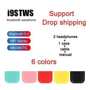 I9s TWS Красочные Беспроводные Мини Bluetooth наушники беспроводные стерео портативные спортивные Bluetooth гарнитуры 5,0