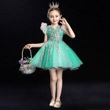 Одежда для подростков от 2 до 10 лет рождественское платье для девочек летнее платье принцессы для свадебной вечеринки Новогодняя одежда для девочек