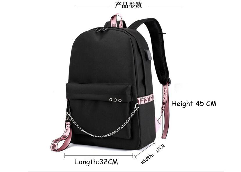 Купить с кэшбэком Mochila Pokemon Pikachu Casual Backpack Women's Backpack USB Charging Bag, Girl, Boy Travel Backpack, Laptop Backpack