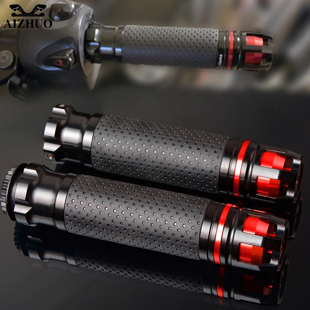 CNC Motorcycle Handle Grips Handlebar Hand Bar Grip For HONDA CBR 1000 RR 1000RR dio cr Cbr 600 YZF R3 MT07 MT 03 10 XMAX|Grips|   - title=