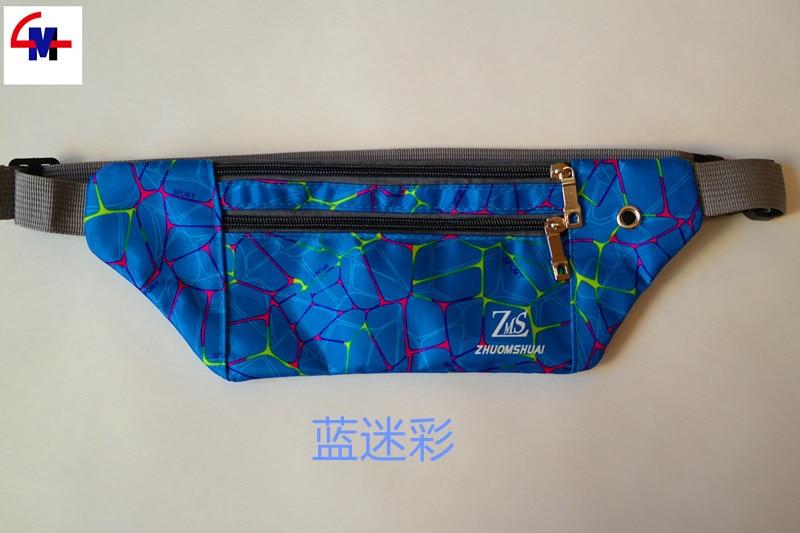 Tactical Waist Pack Slim Pockets Sports Waist Pack Outdoor Wallet Multi-functional Wallet Hidden Waterproof Waist Bag