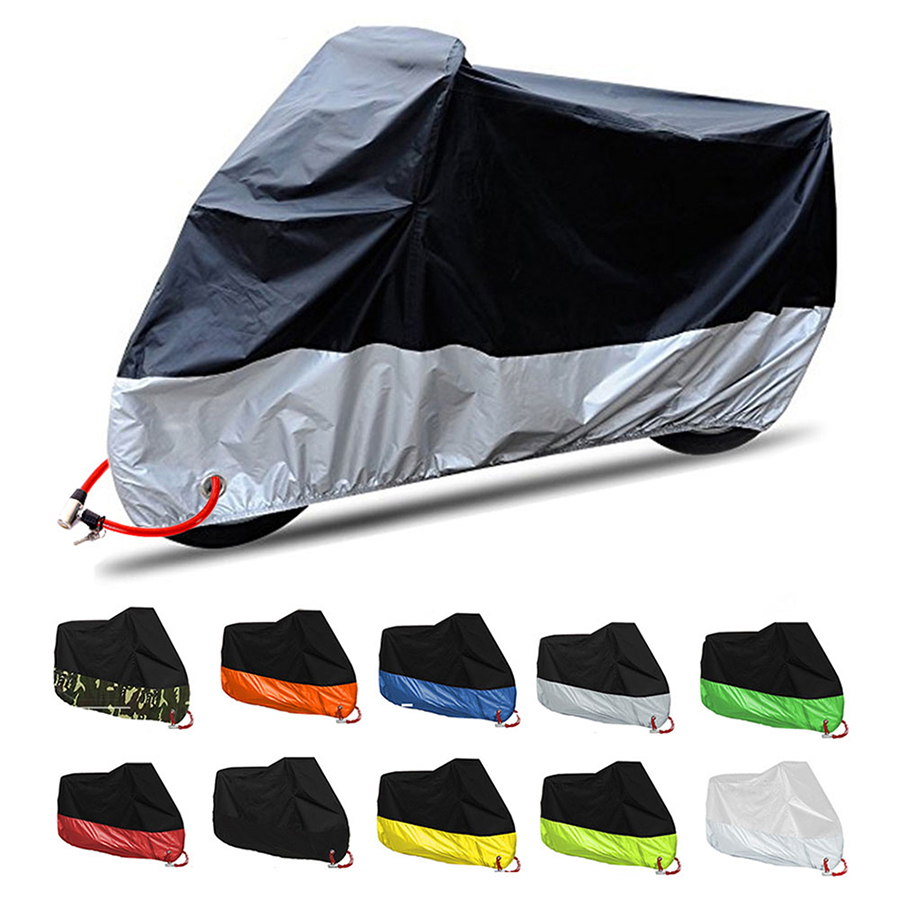 Motorcycle Cover Waterproof For Sv650 Honda Steed 400 Laminas Anti Lluvia Bmw 1200 Gs Accessories Ruota Minimoto R1250rt Cbx 250