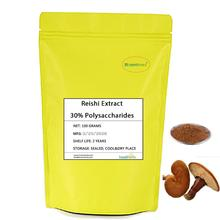 Natural Ganoderma Lucidum Extract Reishi Polysaccharide 30% Lingzhi Extract Powder 500mg capsule high quality ganoderma lucidum extract reishi mushroom capsule with competitive price
