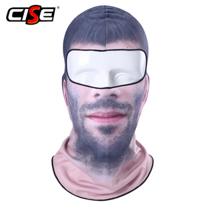 Image 2 - 3D Clown Beard Man Motorcycle Balaclava Full Face Mask Cover Helmet Liner Ski Paintball Snowboard Biker Riding Hood Men Women