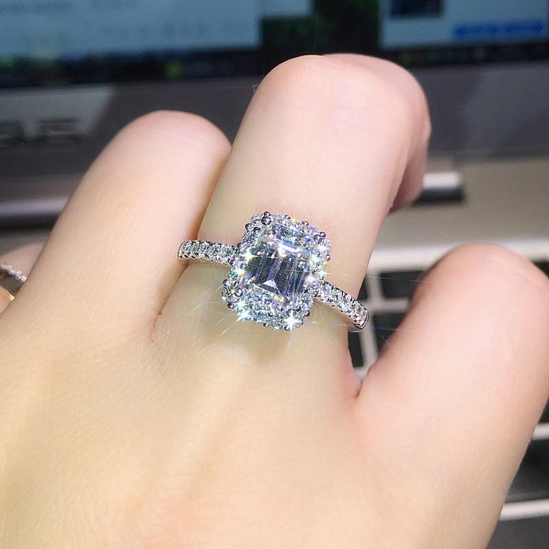 Горячая Распродажа, дизайн, роскошное большое овальное CZ кольцо золотого цвета, обручальное кольцо, хорошее ювелирное изделие для женщин, ювелирных изделий - Цвет основного камня: 24