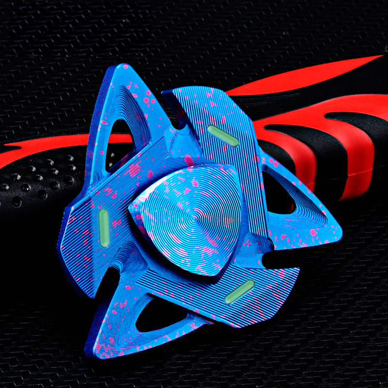 Spider Shape Colorful Rotating Fidget Hand Spinner ADHD Autism Reduce Stress To