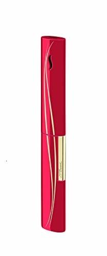 ST Dupont la baguette briquet rouge/or