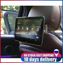 8 çekirdekli HD Android 8.1 araba baş dayama monitörü WIFI araç DVD oynatıcı Video oynatıcı Bluetooth arka koltuk eğlence sistemi için Mercedes Benz