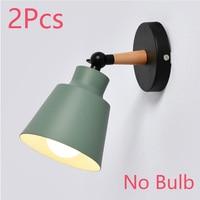 green NO Bulb 2Pcs