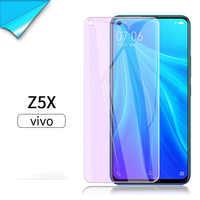 Funda protectores de pantalla completa para Vivo Z5 Z5X Z5i Anti azul para Vivo Z3 Z3X Z3i Z1 Z1X Z1i ZiPro vidrio protector templado