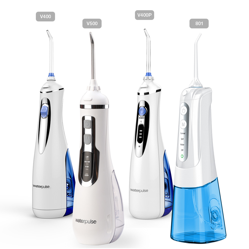 Electric Irrigator Water Flosser Oral Irrigator USB Rechargeable Oral Irrigator Tips Teeth Cleaner Water Jet Oral Hygiene Dental(China)