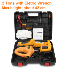 12V Car Electric Jacks Tire Replacing Tool Hydraulic Floor Jack Set Impact Wrench Tool LED Light Auto Lifting Repair Tools Kit free shipping game gaming earphone new for pc mobile phone ps4 mic audio bass noise cancelling