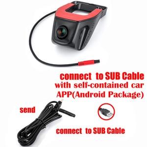 Image 2 - Car DVR dash Camera SUB dvr camera GPS Player Digital Video Night Vision HD 720P Registrator Recorder For Android System