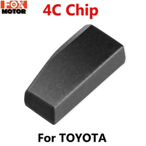 For Toyota Corolla Land Cruiser Picnic Previa Prius RAV4 Yaris Blank Immobilizer ID4C 4C Car Remote Key Transponder Chip