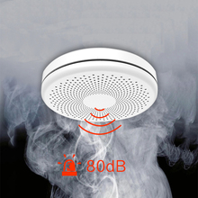 Tuya WiFi 2 in 1 Smoke Alarm Fire  Detector Combination  Home Security System