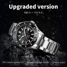 Seagull Horloge Verbeterde Keramische Oceaan Ster 200 Meter Waterdicht Zakelijke Mode Automatische Mechanische Horloge 416.22.1201