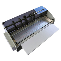 Electric Creasing Machine Bumping and stamping Tool Business Card Indentation Dashed line Cutting Creasing Book Crease Machine