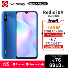 Xiaomi Redmi 9A 32GB LTE/GSM/WCDMA Octa Core Face Recognition 13MP New Mobile-Phone MTK