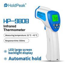 אינפרא אדום מדחום HP 980B ללא מגע דיגיטלי לייזר טמפרטורת אקדח מיידי לקרוא 32 ℃ כדי 43 ℃(89.6 ℉ ~ 109.4 ℉)
