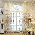 Кофейные тюлевые отвесные занавески для спальни  гостиной  окна  органза  утолщенные тюлевые занавески  тканевые жалюзи на заказ  M211 & 40