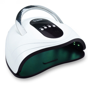 120W LED Nail Lamp UV Lamp For Manicure 42 Pcs Light Bead Quick Curing UV Gel Nail Polish With Motion Sensing LCD Display(China)