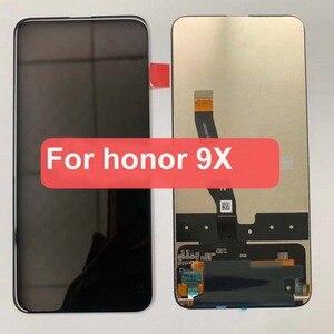 Image 2 - オリジナル 6.59 インチ huawei 社の名誉 9X プレミアムグローバル版 STK LX1 STK L22 lcd ディスプレイタッチスクリーンデジタイザアセンブリ + フレーム