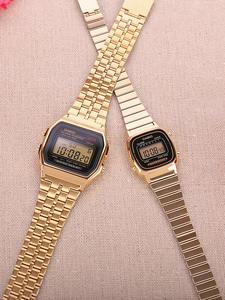 Casio Watch Couple Women Clock Digita Quartz LED Top Waterproof Sport Ladies Luxury Relogio