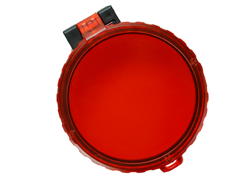 EAGTAC Red Filter W/ Flip Cover (plastic) For T G S M Series LED Flashlight