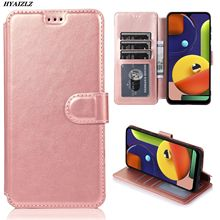 Slim Wallet Case For Samsung Galaxy A50 A10 A70S A40 A30 A20 A6 A8 A9 2018 M30 Flip PU Leather Capa Card Holder Kickstand Cover mooncase slim leather side flip wallet card slot pouch with kickstand shell back чехол для samsung galaxy a3 blue