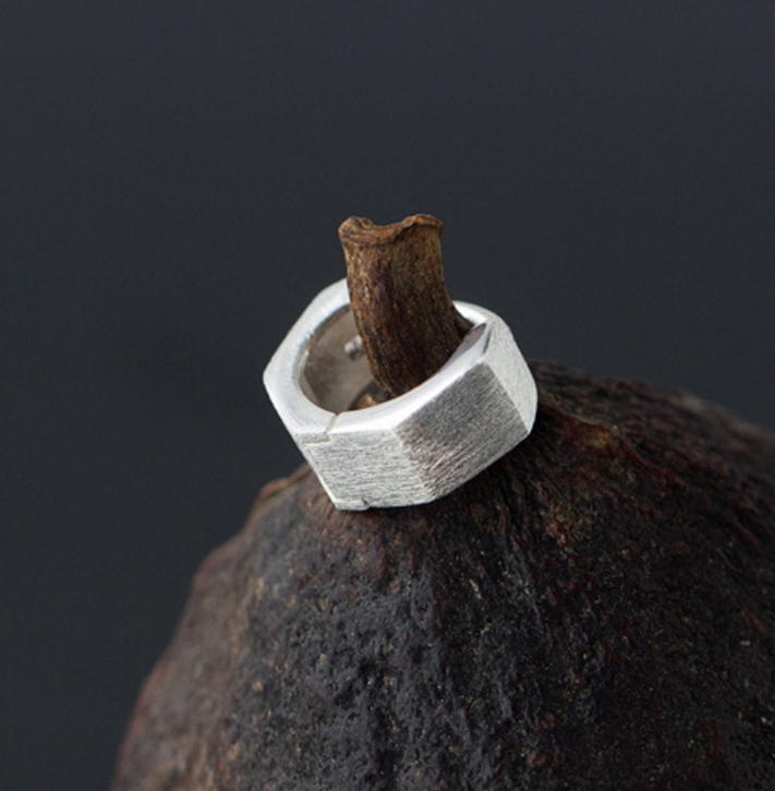 Серьги из стерлингового серебра 925 пробы с геометрическим покрытием Huggie Hoop, ювелирные изделия A1269